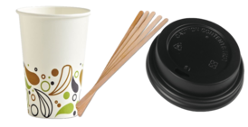 Cups, Lids, Straws & Stirrers