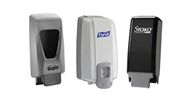 Soap & Sanitizer Dispensers & Stands