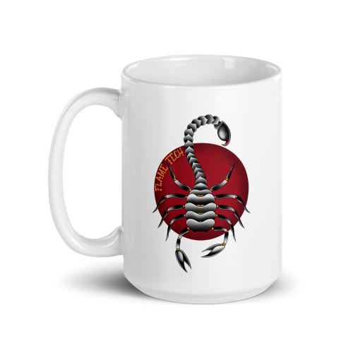 American Traditional Scorpion Mug