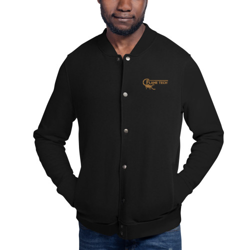 Scorpion Gold Embroidered Champion Bomber Jacket
