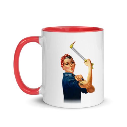 Rosie Color Splash Mug