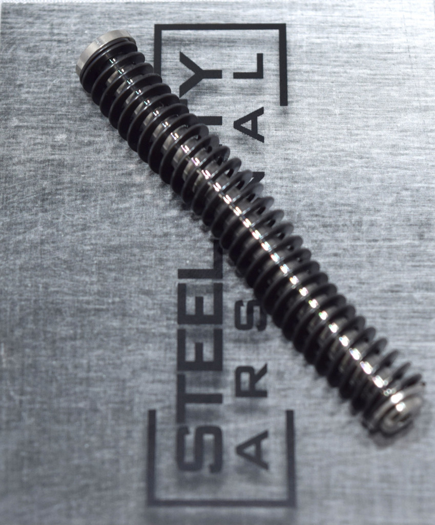 Steel City Arsenal Glock 19 gen 1-3 Stainless Steel Guide Rod w/ ISMI 15# Spring