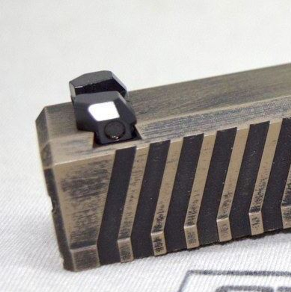 Steel City Arsenal LoPro Fiber Optic Sights For Glock 42/43