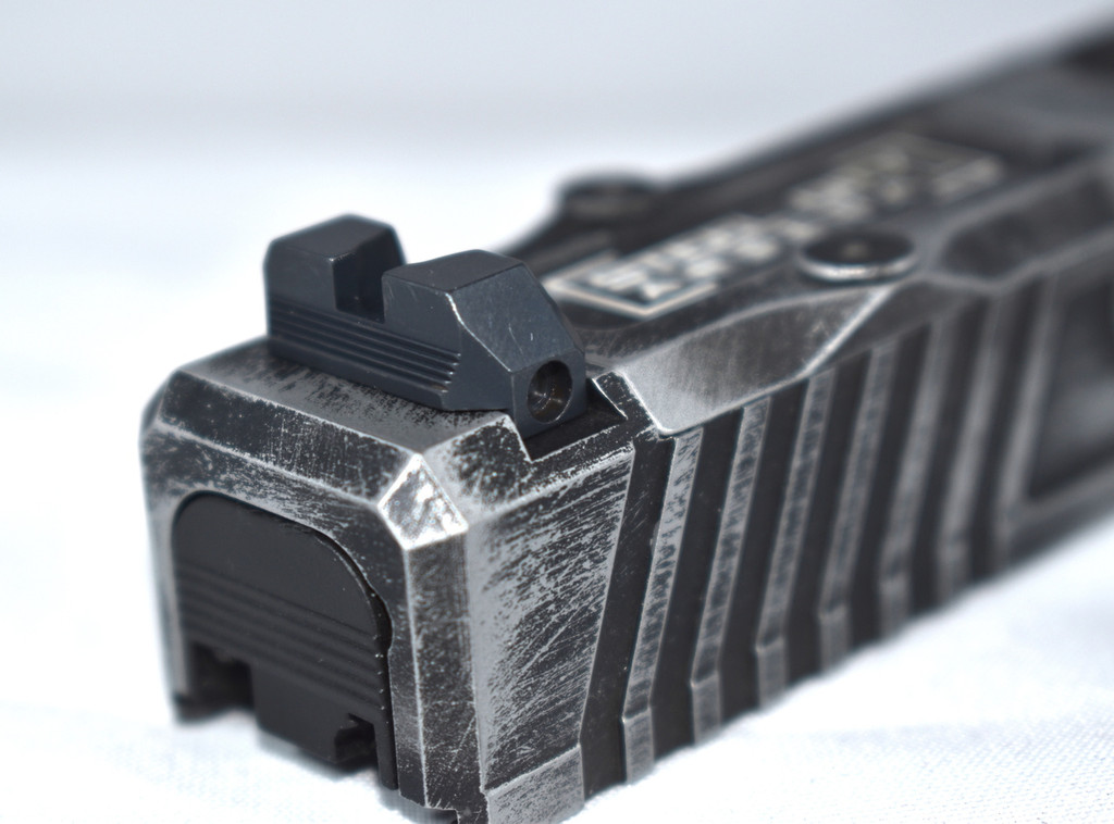 Steel City Arsenal Competition Height Fiber Optic Sights For Glock 17/19/22/23/24/26/27/31/32/34/35