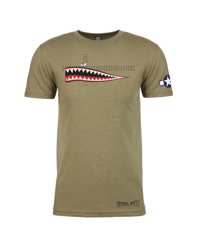 Steel City Arsenal P40 Warhawk T-shirt Light OD Green