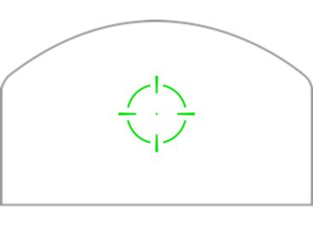 SwampFox Optics KINGSLAYER 1x22 3MOA MICRO REFLEX Green Circle DOT