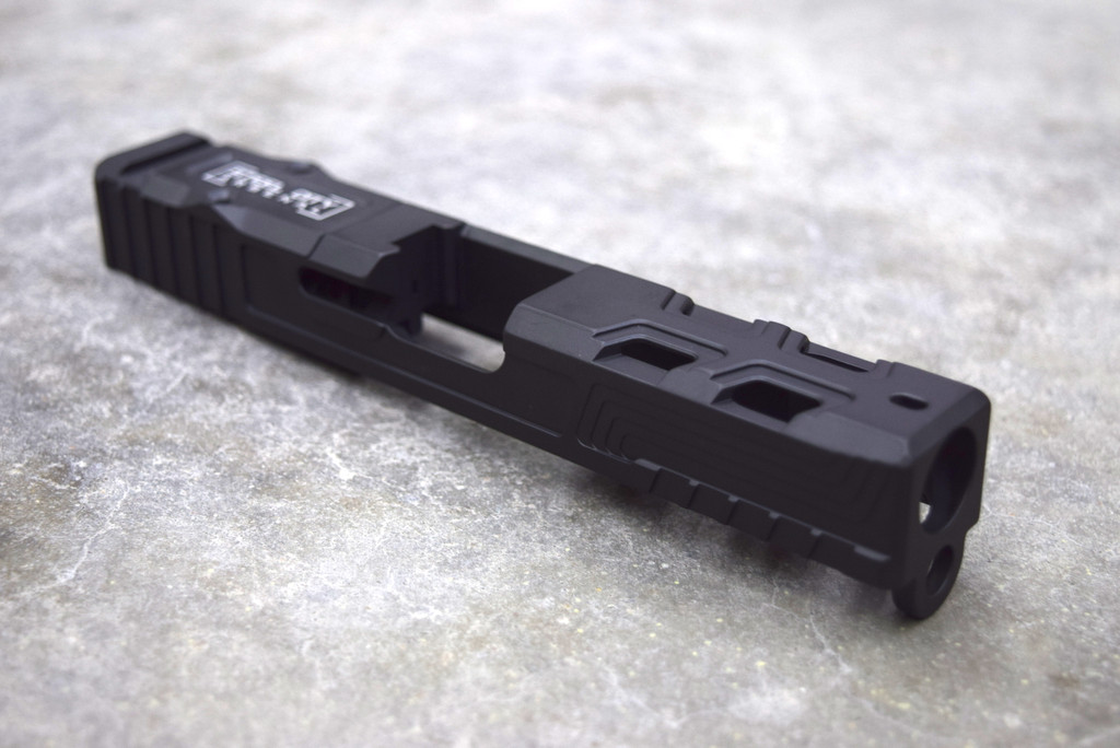 [Karve] G19 Gen 3 Armor Black with Trijicon RMR Cut & Cover Plate