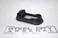 Steel City Arsenal Slim magwell for Polymer 80 PF940C Frames- Anodized Black