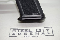 Steel City Arsenal Slim magwell Specifically for Polymer 80 PF940V2 Frames- Anodized Black