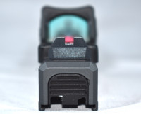Steel City Arsenal Suppressor Height Fiber Optic Sights For Glock 17/19/22/23/24/26/27/31/32/34/35