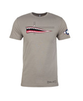 Steel City Arsenal P40 Warhawk T-shirt Stone Gray