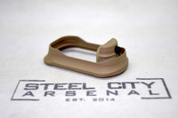 Steel City Arsenal Slim Magwell for Polymer 80 PF940C Compact Frames Magpul FDE