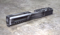 [Ultralight] Slide for Glock 17 Gen 3 Battleworn Gray RMR Cut Poly 80