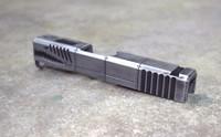 [P40 Warhawk] Slide For Glock 43 9mm SS80- Battleworn Gray