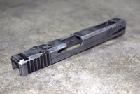 [P40 Warhawk] Slide for Glock 34 Gen 3 Battleworn Gray slide RMR Cut Poly 80