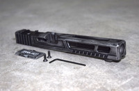 [Ultralight] Slide for Glock 34 Gen 3 Battleworn Gray RMR Cut Poly 80