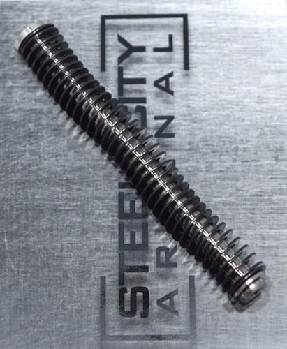 Steel City Arsenal Glock 17/34 gen 1-3 Stainless Steel Guide Rod w/ ISMI 13# Spring