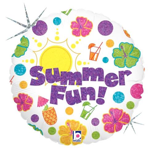 Summer Fun Party Foil Balloon