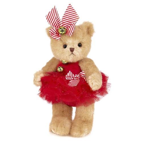 Bearington Collection Jenny Jingles Plush Girl Bear