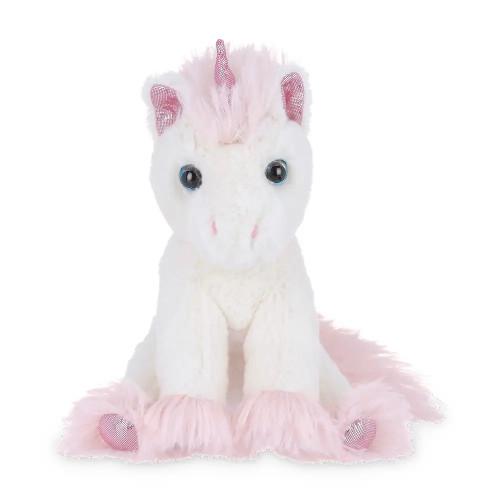 The Bearington Collection Lil' Dreamer Unicorn Stuffed Animal Plush