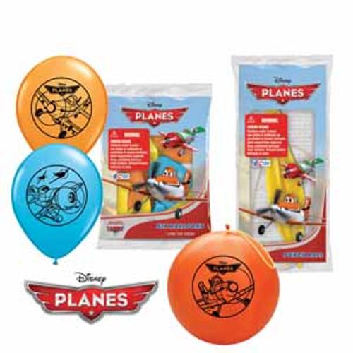 6pk Disney Planes Latex Balloons