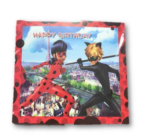 Birthday Party Miraculous Ladybug Banner