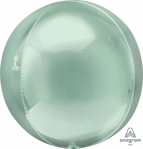"""16"""" Orbz  Mint Green Round Balloon"""