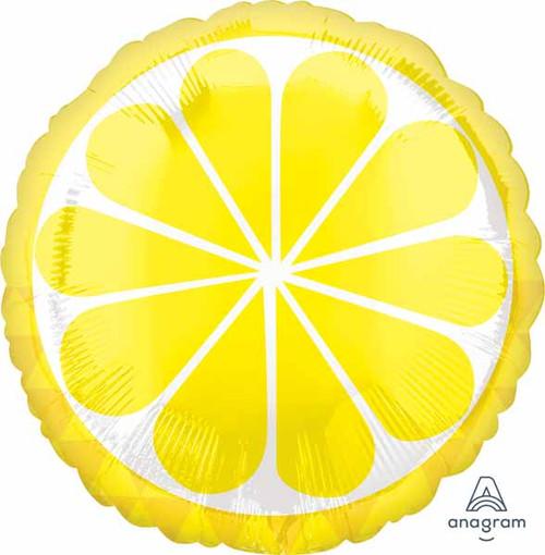 Sliced Lemon Foil Balloon