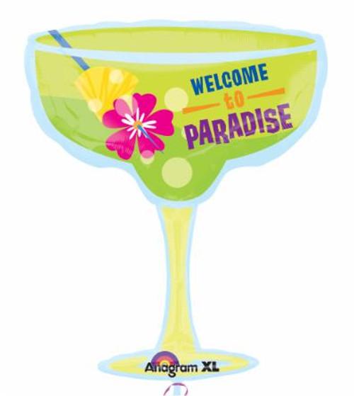 Supershape Paradise Margarita Foil Balloon
