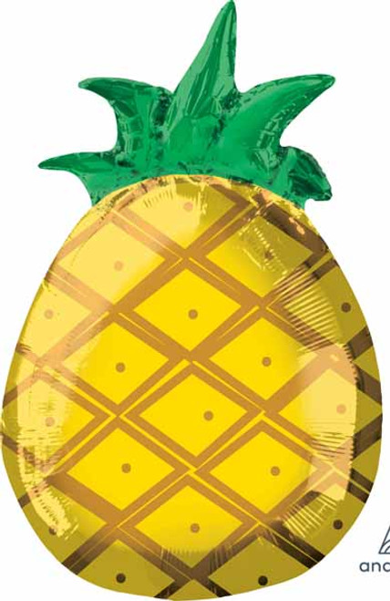 Tropical Pineapple Foil Balloon