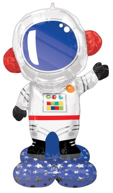 Astronaut Space Explorer AirLoonz Foil Decor