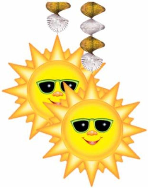 Sun Summer Fun Party Hanging Decoration