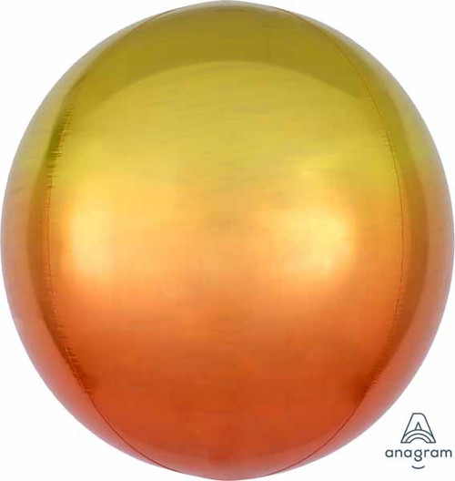 "16"" Orbz  Ombre Round Balloon"