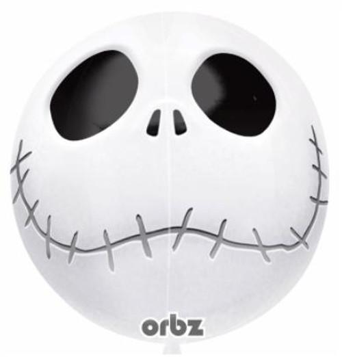 Jack Skellington Orbz Balloon with 4 Sides