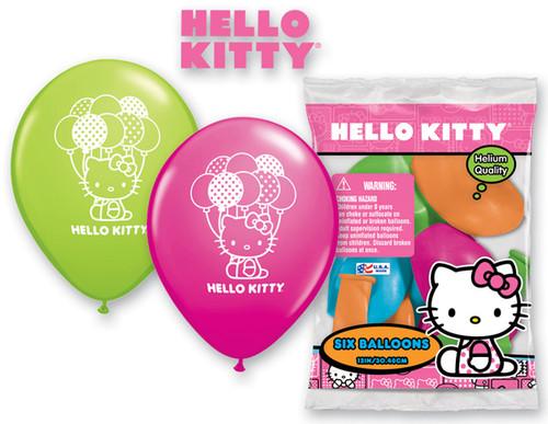 Hello Kitty Birthday Party Balloons