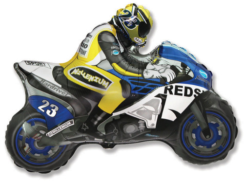 """36"""" Moto GP Jumbo Foil Balloon"""
