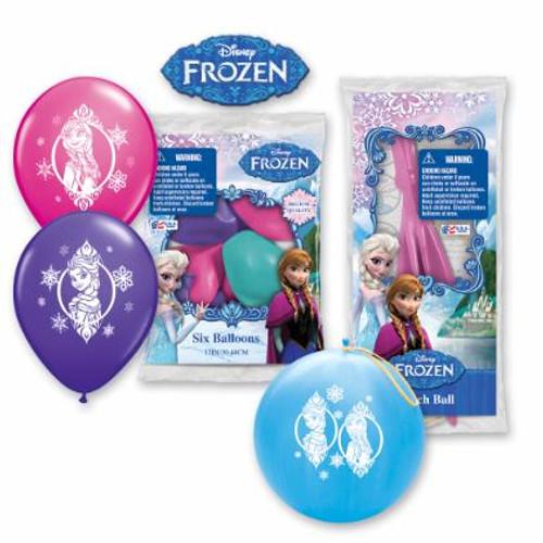 Anna Elsa Frozen Birthday Balloons 6 pack