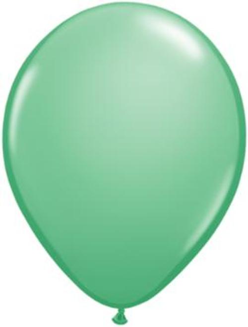 "5"" Qualatex Latex Balloon Winter Green"