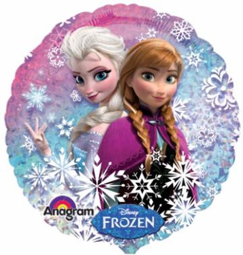 Anna Elsa helium Balloon from Frozen
