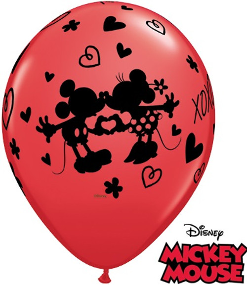 Disney Minnie & Mickey Mouse Latex Balloons Assorted
