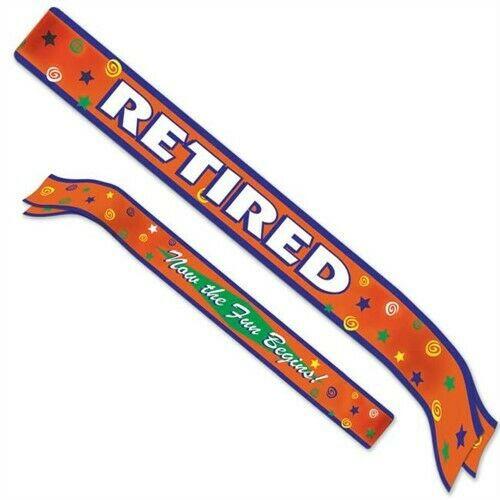 Happy Retirement Party Sash