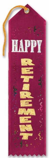 Retirement Award Ribbon