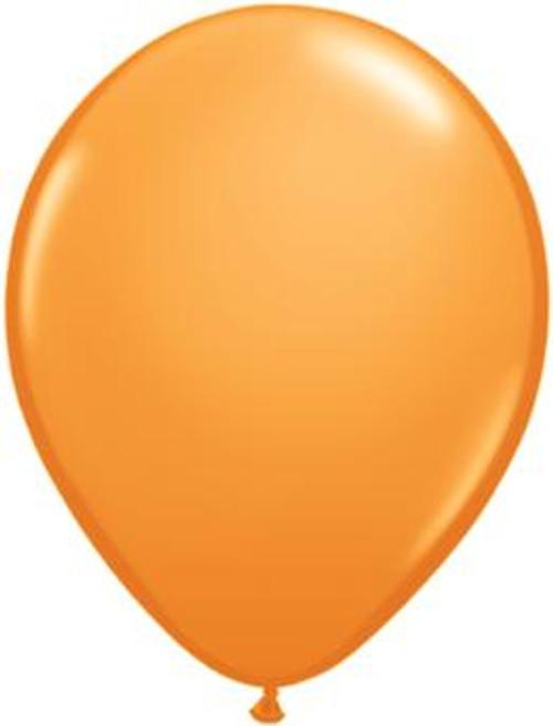 Small Orange Balloon