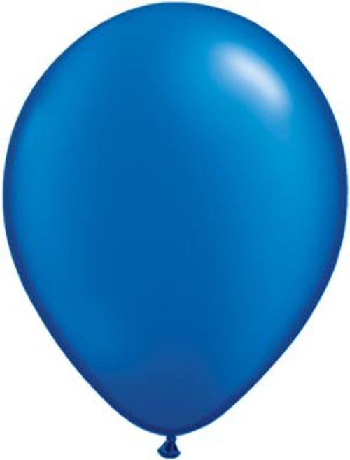 Pearl Sapphire Blue Solid Color Balloon