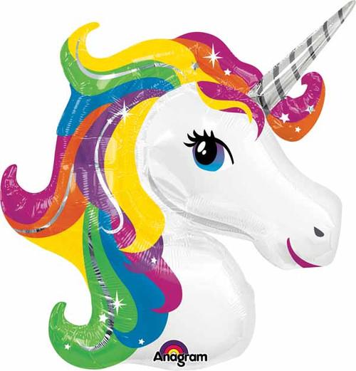 Jumbo Rainbow Unicorn Balloon
