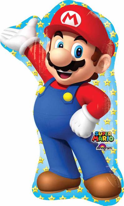 Bright Tall Mario Cartoon Balloon