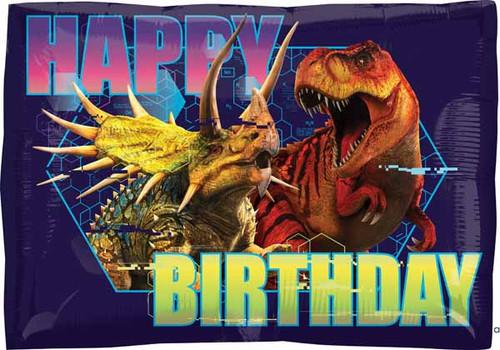 Happy Birthday Jurassic Park Dinosaur Balloon