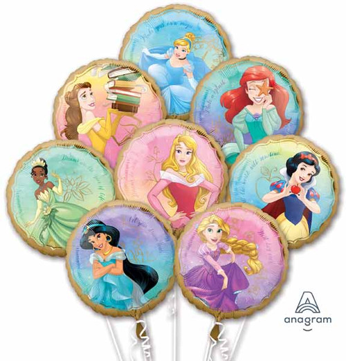 Disney Princesses Huge Birthday Party Balloons Bouquet