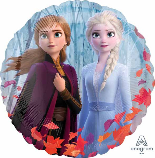 Anna Elsa Frozen Movie Balloon