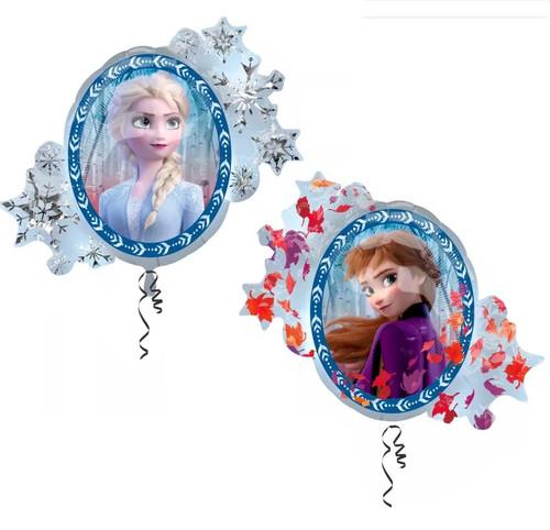 Huge Frozen Balloon with Anna & Elsa